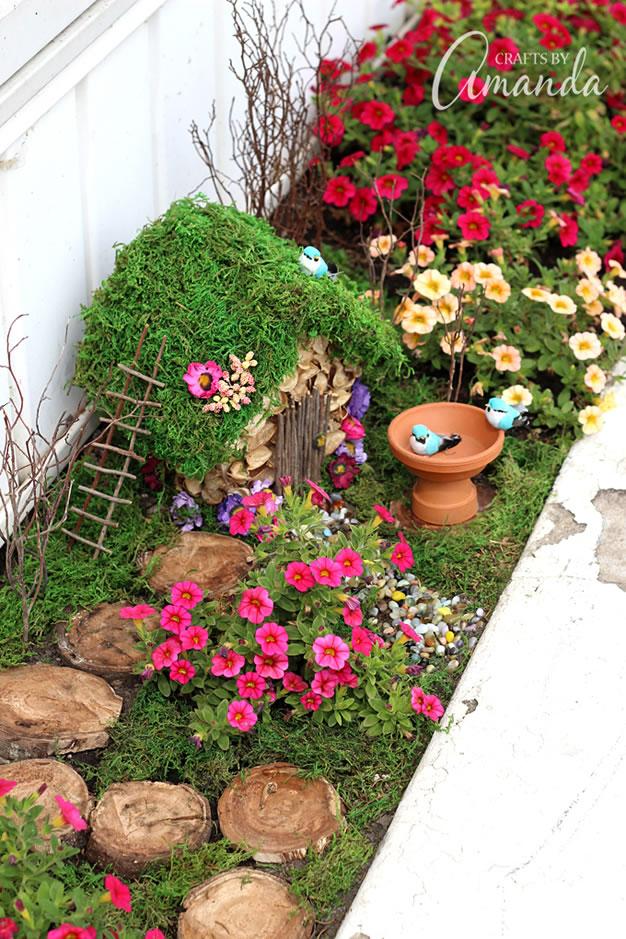 6 jardines de fantas a y hadas para hacer en casa gu a